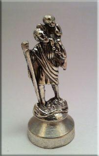 статуэтка Святой Христофор