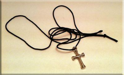 Шнурки своими руками для крестика